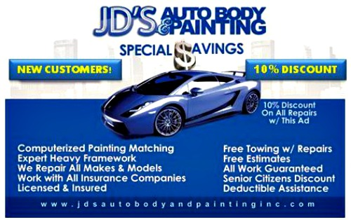 JDS Auto - Discount Image Card - New 2
